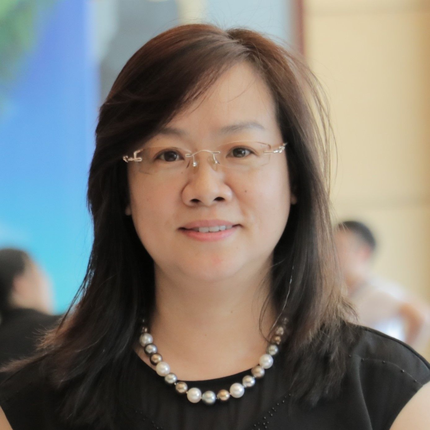 Chen Ying, Speaker of INC World Nut and Dried Fruit Congress.
