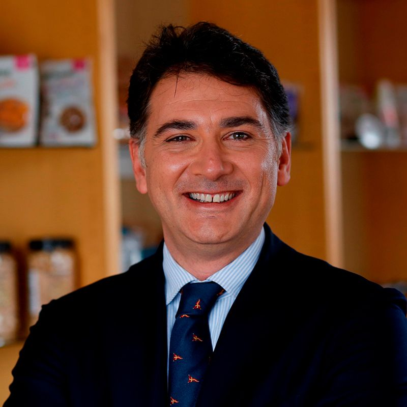 Riccardo Calcagni, Speaker of INC World Nut and Dried Fruit Congress.